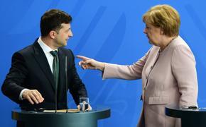 Вашингтон не примет Зеленского, если тот не выполнит ультиматум Меркель