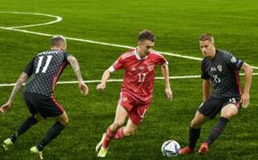 Сборная России — Хорватия не выявили победителя 0:0