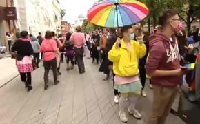 В Каунасе прошел прайд секс-меньшинств