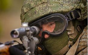 В ходе учений «Запад-2021» снайперы остановили продвижение колонны легкобронированной техники