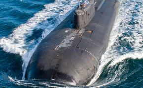 Атомный подводный крейсер «Орёл» произвёл пуск ракет в Баренцевом море