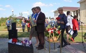 В Воронежской области открылся мемориал памяти, построенный общественниками