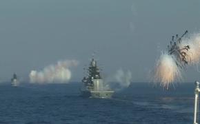 Отряд кораблей БФ отразил воздушное нападения условного противника на Балтике