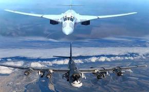 С аэродрома в Энгельсе были подняты в воздух 10 стратегических бомбардировщиков в учебных целях