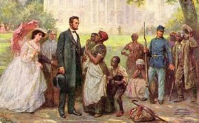 22 сентября 159 лет назад Авраам Линкольн освободил всех рабов в США