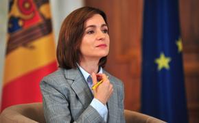 Президент Молдавии  Майя Санду потребовала полного вывода российских войск из Приднестровья