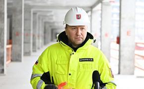 Андрей Бочкарев: Строительная готовность станции «Марьина Роща» БКЛ метро превышает 71%