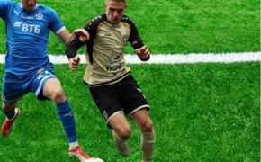 «Динамо» уверенно побеждает «Рубин» 2:0