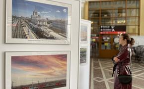 Фотовыставка «ПривЖД с высоты птичьего полета» открылась на железнодорожном вокзале Волгограда