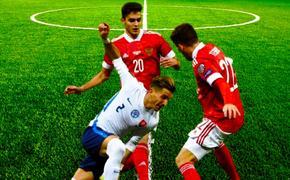Сборная России вырывает победу у сборной Словакии 1:0