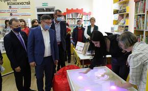 На Кубани открыли первую модульную библиотеку в сельской местности