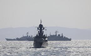 Силы Черноморского флота от Новороссийска и Крыма до Тартуса проводят военные учения