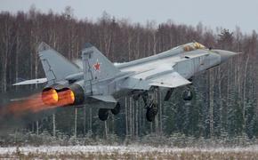 МиГ-31 ТОФ отработали перехват воздушных целей над Камчаткой