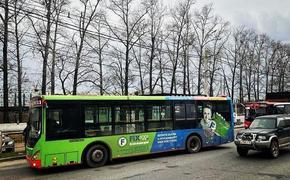В Хабаровске столкнулись три автобуса