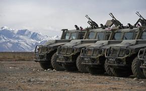 Бронетехника самарской бригады СН была переброшена в Таджикистан