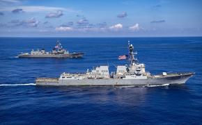 Контр-адмирал Хмыров назвал действия американского эсминца в Японском море «опасным» маневрированием