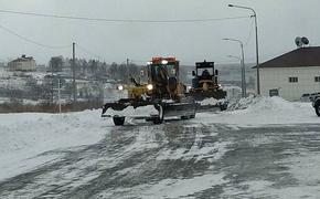 Снежный циклон парализовал движение ватобусов в Хабаровском крае