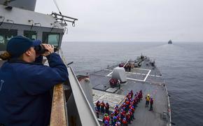 Daily Express: Россия «пришла в ярость» после того, как эсминец США Chafee попытался проникнуть в ее воды в Японском море