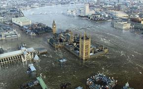 Великобританию ожидают сильные катаклизмы из-за глобального потепления