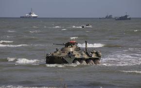 Силы ЧФ, общевойсковой армии и авиации ЮВО отразили высадку десанта условного противника на берег Крыма