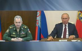 По распоряжению Верховного Главнокомандующего Вооружённые силы РФ окажут помощь субъектам Федерации в борьбе с пандемией