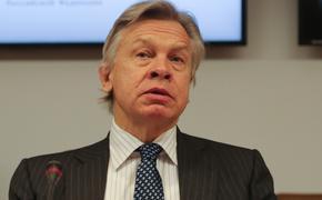 Пушков заявил, что за словами генсека НАТО о намерении улучшить отношения с Россией ничего не стоит