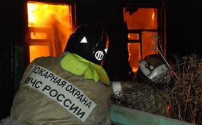Женщина с ребенком  погибли при пожаре в доме в подмосковной Истре