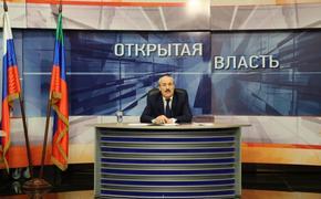 Рамазан Абдулатипов в прямом эфире ответил на вопросы дагестанцев