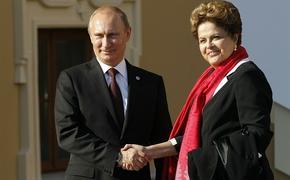 Путин посетит финальный матч ЧМ-2014 по футболу в Бразилии