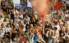 Аргентинские футбольные фанаты устроили дебош в центре Буэнос-Айреса