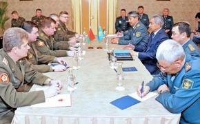 Минобороны Белоруссии и Казахстана утвердили план сотрудничества