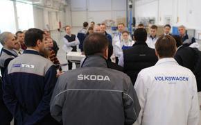 Заводы Volkswagen и Skoda  переведены на четырехдневку