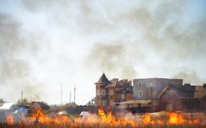 В Тверской области законодательно установлен запрет на поджоги сухой травы