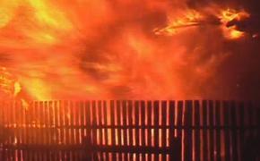 В Нижегородской области на пожаре погибли двое детей