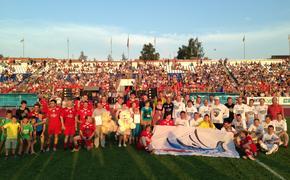 благотворительный  футбольный матч «Под флагом Добра!»