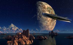 С борта МКС сняли видео, на котором НЛО взлетает с Земли (ВИДЕО)