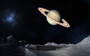 Таинственный гигантский объект скрывается за Сатурном