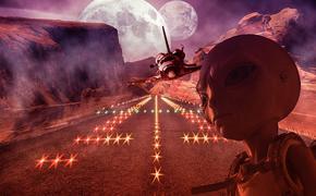 Уфологи разглядели на Марсе череп снежного человека - йети (ВИДЕО)