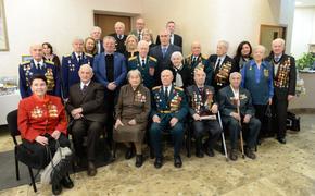 Ветеранам устроили торжественный прием в честь 75-летия битвы под Москвой