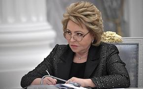По мнению Матвиенко, нужна новая линейка печатных учебников по русскому языку