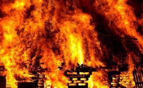 Под Челябинском в ночном пожаре погибло четверо детей