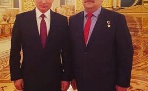 Директор ЦПКиО сфотографировался с президентом РФ Путиным