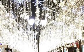Рождественская Москва обогнала Питер по количеству туристов