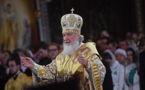 Патриарх Кирилл высказался о нападении на храм в Грозном