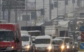 В Москве прогнозируются 10-балльные пробки 26 декабря