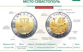 На Украине появятся монеты с Севастополем