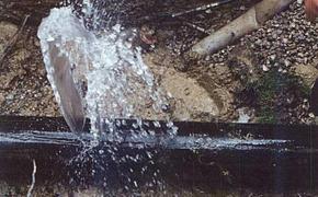 Информация об утечке воды по улице Карла Либкнехта