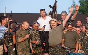 В президентской гонке на Украине лидирует крысеныш, участвовавший в травле жителей Донбасса!..
