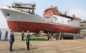 ВСУ Украины сообщили о спуске  на воду нового  украинского разведывательного  корабля