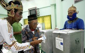 Смертельные выборы в Индонезии